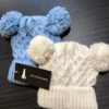 Double Pom Pom Knitted Hats