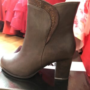 Ladies brown ankle boot