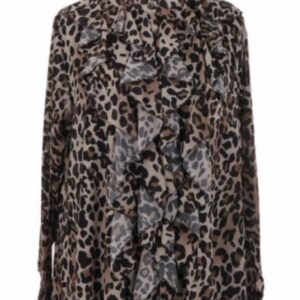 Made in Italy Animal Print Blouse
