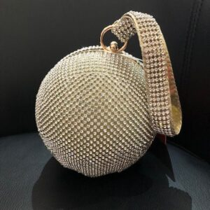glitter ball occasion bag