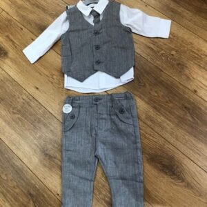 Boys four piece waist coat outfit