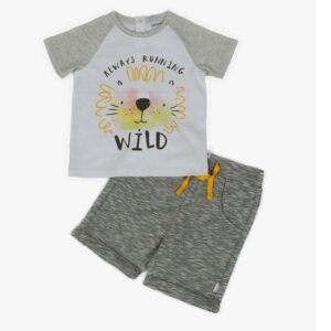 Wild T-Shirt & Short Set
