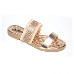 champagne gold fashion sandals
