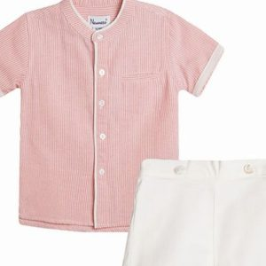 baby boy shorts & shirt set
