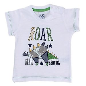 Roar Little saurus boys T-Shirt