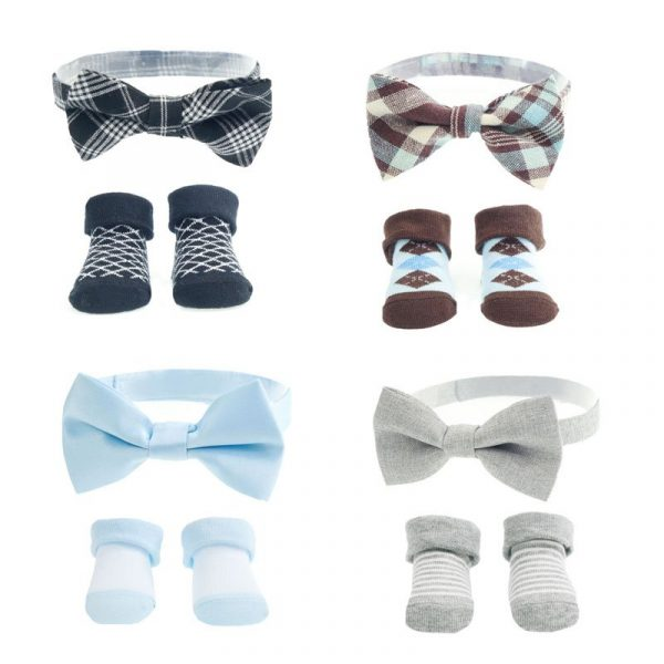 Baby Boy Bow Tie and Sock Set