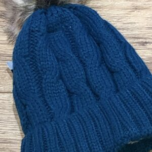 Fleece Pom Pom Hat
